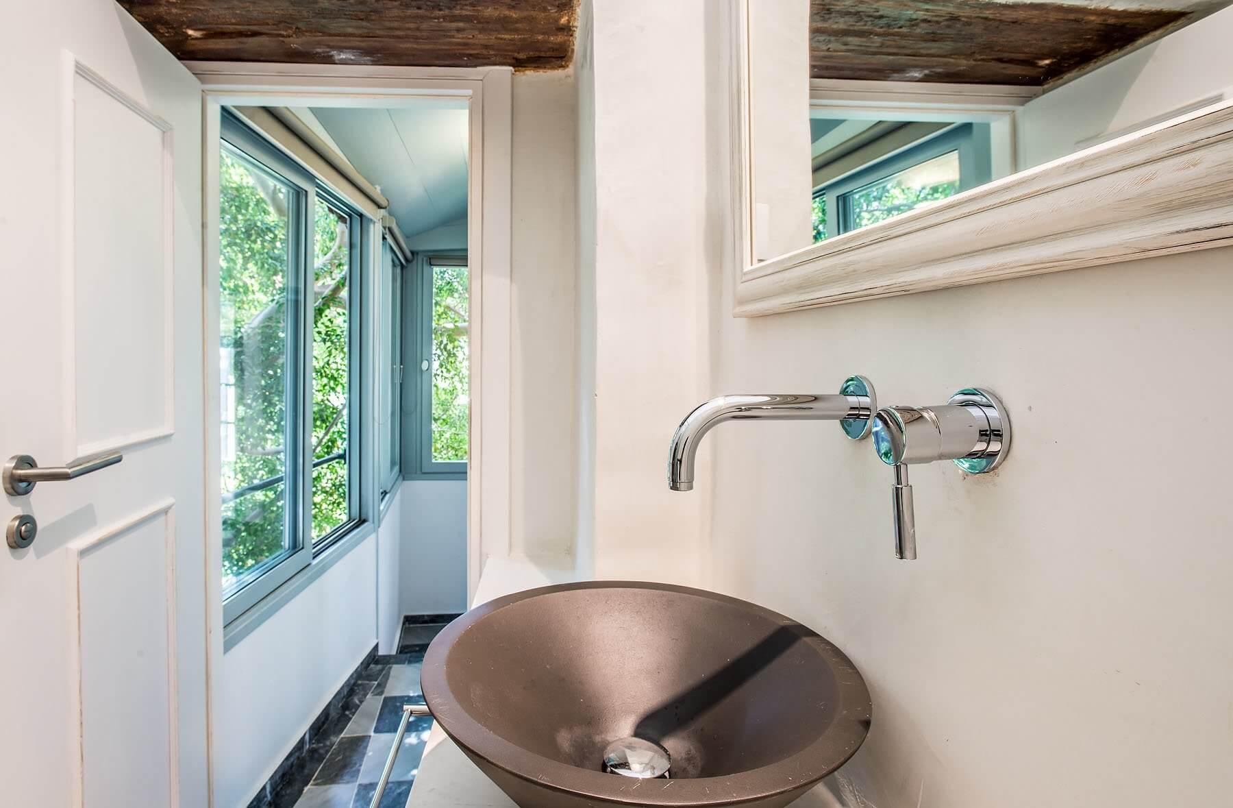 Tree View Bathroom