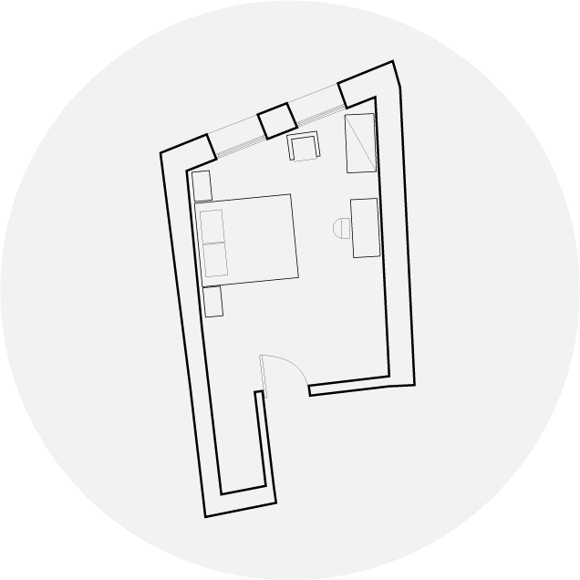 Hotel Off Deluxe Floorplan